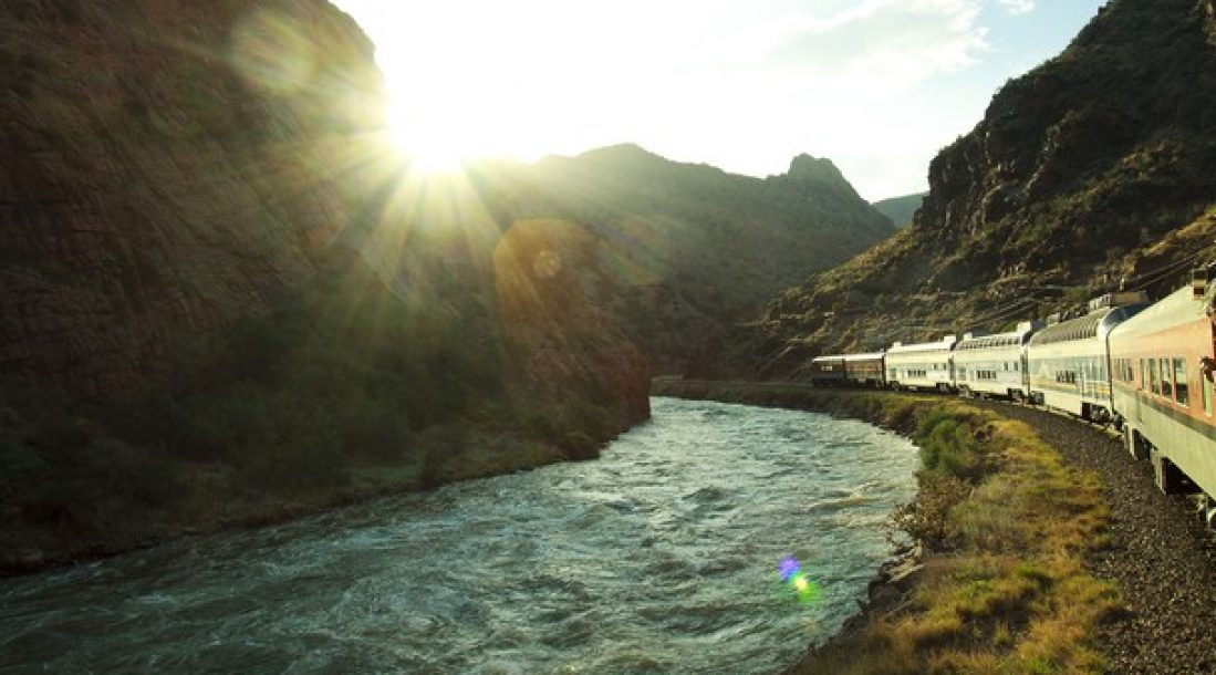 River-and-train