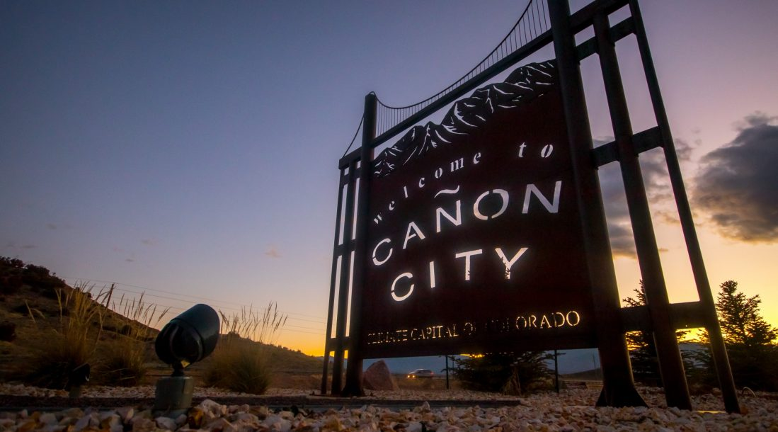 Canon City sign 2