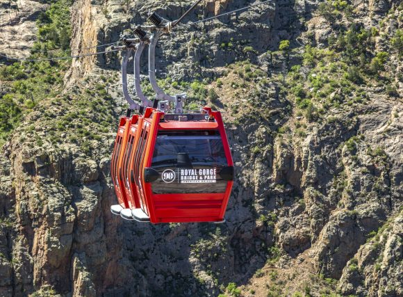 The Gondola at the Royal Gorge Bridge and Park