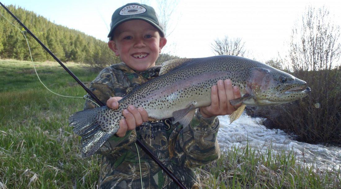 Fishing at Parkdale