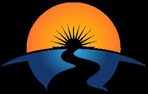 River Into the Sun Illustration