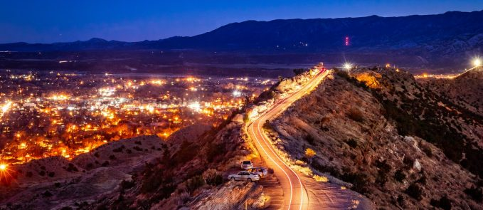 Skyline Drive at Night – Canon City – Nick Landry