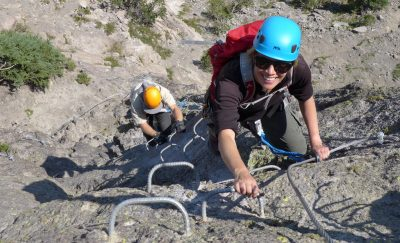 A Via Ferrata. Photo by: Adventure Partners