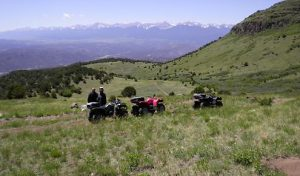Four Wheeling in Fremont County
