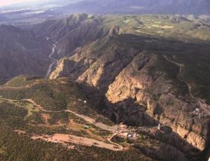 The Royal Gorge from Above