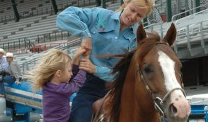 Mother & Daughter Horseback Riding