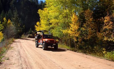 jeeping fall