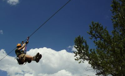 Ziplining in the Royal Gorge Region