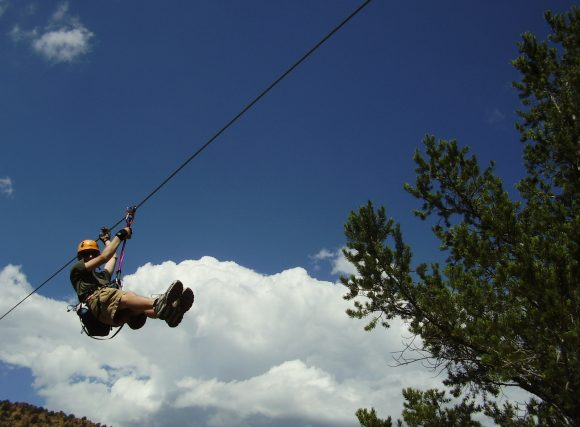 Ziplining in the Royal Gorge Region